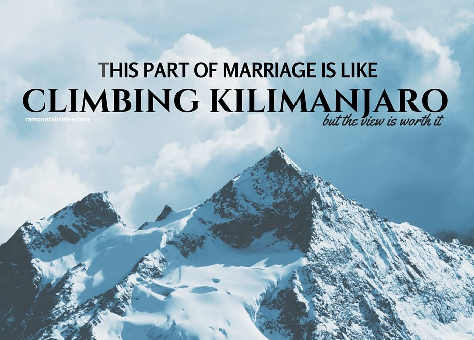 Forgiveness in Marriage Is Like Climbing Kilimanjaro – but the view is worth it
