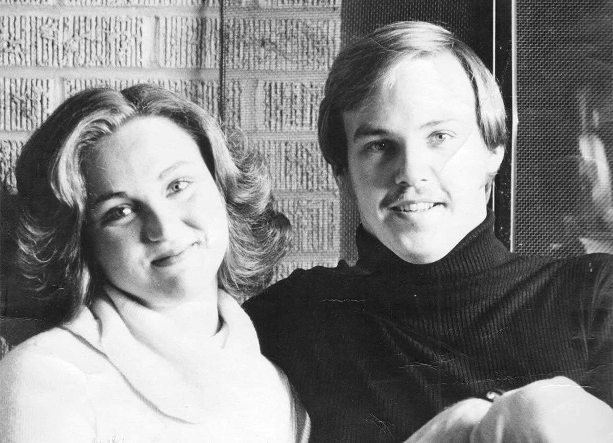 Ramona Zabriskie and Her Husband in 1977