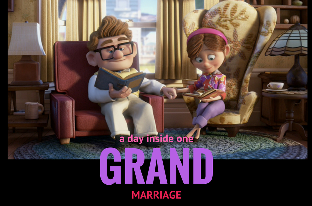 A Day Inside One Grand Marriage