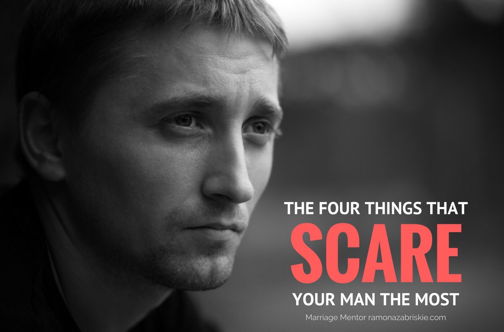 He's Very Afraid: The Four Things That Scare Your Man The Most
